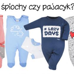 pajac niemowlęcy śpiochy czy pajacyki niemowlęce