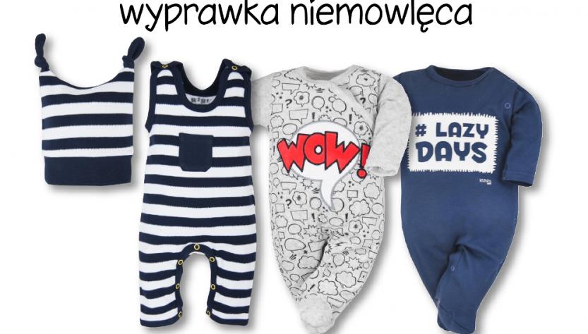 wyprawka niemowlęca lista ubranek dla dziecka