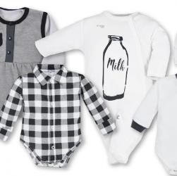czarne ubranka niemowlęce sklep