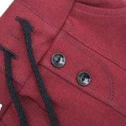 spodnie bordowe dla dziecka