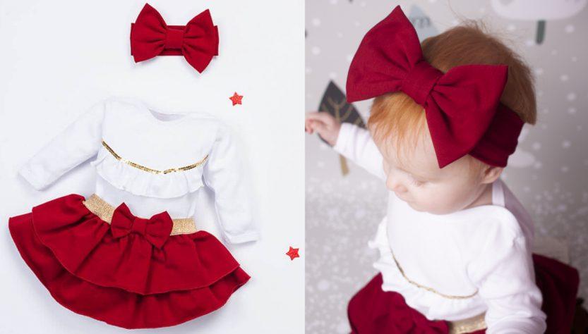 sukienki niemowlęce